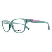 Emporio Armani Glasses Frames 3081 5512 Sage Womens 54mm