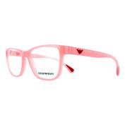Emporio Armani Glasses Frames 3090 5507 Opal Coral Womens 52mm
