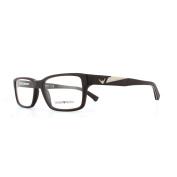 Emporio Armani Glasses Frames 3087 5509 Matte Brown Men 52mm