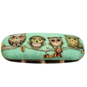 Santoro Book Owls Glasses Cases