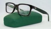 Lacoste L2672 214 Havana & Green + Org Case Glasses Frames Eyeglasses Size 52