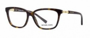 Michael Kors Sabina Iv Mk8018 3106 Dark Tortoise & Gold Frames Eyeglasses Siz 54