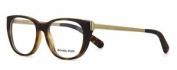 Michael Kors Phuket Mk 8011 3021 Matte Tortoise Brille Frames Eyeglasses Size 52
