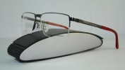 Porsche Design P 8251 B Titanium Gunmetal Half Rim Brille Eyeglasses Frames S 56