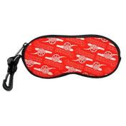 Arsenal Fc Official Football Soft Neoprene Glasses Case Red