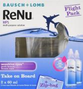 Bausch & Lomb Renu Mps Multi-purpose Contact Lens Solution - Flight Pack