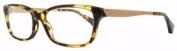 Emporio Armani Ea 3031 5228 Yellow Havana / Tan Arms Frames Eyeglasses Size 52