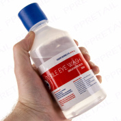 250ml Sterile Saline Eye Wound Wash Solution Bottle First Aid Replacement/re
