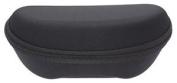 Large Flat Bottomed Black Zip Up Sunglasses Case - Uk Dispatch