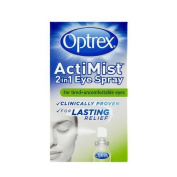 Optrex Actimist 2-in-1 Eye Spray For Tired Plus Uncomfortable Eyes - 10 Ml