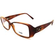 Fendi Frames Glasses 857 218 Light Havana Tortoiseshell