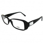 Fendi Frames Glasses 896 001 Shiny Black