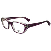 Ray-ban Glasses Frames 5242 5254 Transparent Pink Crystal