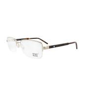 Mont Blanc Glasses Frames 0581 028 Shiny Rose Gold & Black