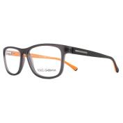 Dolce And Gabbana Glasses Frames 5003 2813 Grey Demi Transp Rubber Men 54mm