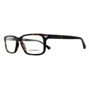 Emporio Armani Glasses Frames 3072 5089 Matte Havana Men 52mm