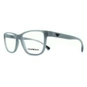 Emporio Armani Glasses Frames 3090 5536 Opal Grey Womens 54mm