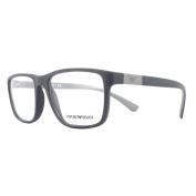 Emporio Armani Glasses Frames 3091 5502 Matte Grey Men 53mm
