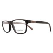 Emporio Armani Glasses Frames 3091 5509 Matte Brown Men 55mm