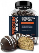 The Protein Works Diet Protein Truffles, Freshly Made Diet Snack - 450 G,