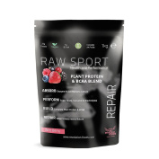 Raw Sport By Revolution Foods-mixed Berry Vegan Protein With 7g Of Vegan Bcaa's