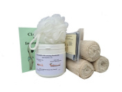 500ml Bums Tums Body Wrap Kit With Crepe Contour Body Wrap Bandages