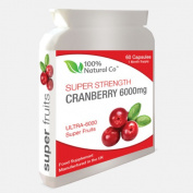 100% Natural Co Super Strength Cranberry