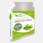 Green Tea Extract Capsules 15000mg - 50% Stronger - 60 Capsules