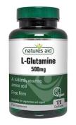 Natures Aid L-glutamine 500mg 120 Capsules