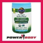 Garden Of Life-perfect Food Raw 100% Organic Young Wheat Grass Juice Powder-120g