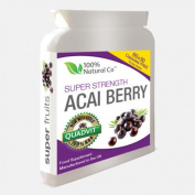 Acai Berry Ultra-5000 Super Strength Vegetarian Friendly 90 Caps