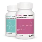 Pure Raspberry Ketones & Detox Colon Cleanse Weight Loss Diet Pills Saver Pack