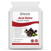 Acai Extra - Acai Berry Weightloss Complex - 60 Capsules