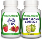 Ultra Ketone Plus And Garcinia Cambogia Combo By Natural Answers - Uk High .