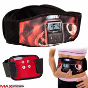 Abtronic Electronic Fitness Weight Loss Slimming Body Vibrating Abs Massage Belt