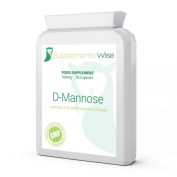 D-mannose Capsules | 500mg X 90 (1500mg Per Recommended Serving) | Urinary Tract