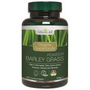 Natures Aid Organic Barley Grass Superfood Powder - 100g