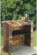 Garden Mile® Large Outdoor D.i.y Build Your Own Garden Bbq Charcoal Tray & Racks