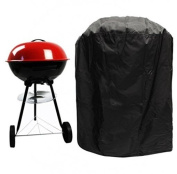 Bbq Cover, Big Fitted Outdoor Waterproof Rain Proof Kettle Barbecue Grill Patio