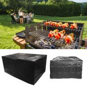Waterproof Garden Bbq Pe Black Cover 170x65x115 Outdoor Storage Cover Protector
