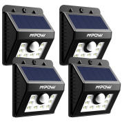 Led Solar Motion Sensor Lights, Mpow 3-in-1 Waterproof Solar Energy Powered
