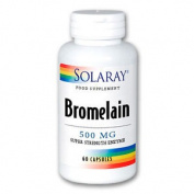 Solaray Bromelain 500mg 60 Capsules