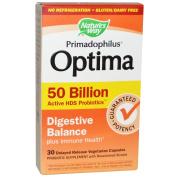 Primadophilus Optima, Digestive Balance, 50 Billion - Nature's Way