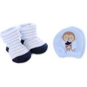 Child of Mine by Carter's Newborn Baby Boy Keepsake and Mittens Set