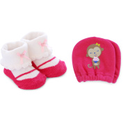 Child of Mine by Carter's Newborn Baby Girl Keepsake and Mittens Set