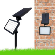 Solar Lights For Gardens, Two Modes & High Output Spotlight Outdoor Decorative