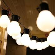 Usun Solar Lights Garden Solar Fairy Lights 10 Bulbs Patio Lights Outdoor Xmas