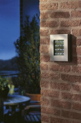 Modern Led Outdoor Wall Light / Porch Light 3w Led By Philips - Ip44 Rated