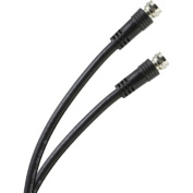 ONN RG-6 Coax Cable for F-Type Jack, 2 Connexions, 1.8m