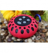 Bluetooth speaker with clip RED